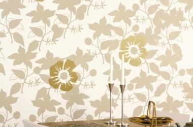 Dekoracje na ścianach – wzory kwiatowe