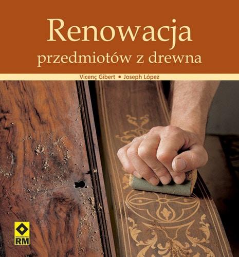 książka renowacja przedmiotów z drewna