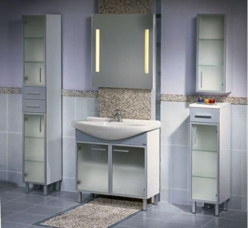 Meble łazienkowe Aluminium, sklep elazienka.net