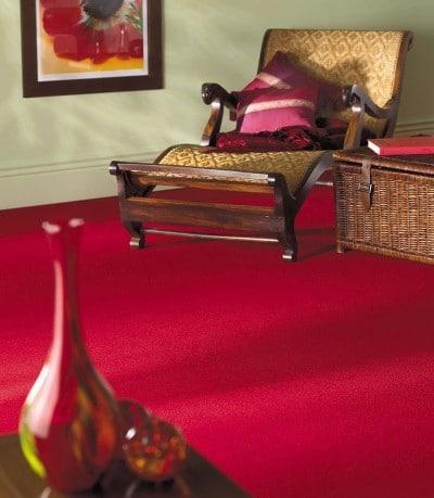 Wykładzina Ryalux, czerwona, Komfort