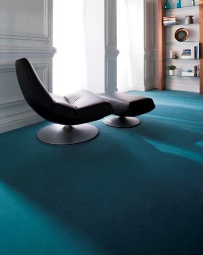 Niebieska wykładzina Ryalux, Komfort