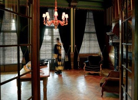 żaluzja bambusowa, w pokoju, Coulisse