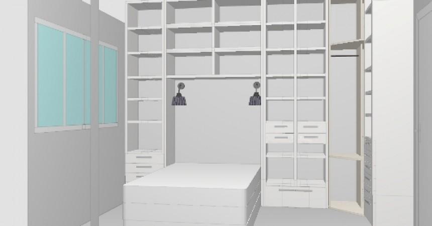 Jak Zabudować Małą Sypialnię By Zmieścić Też Garderobę