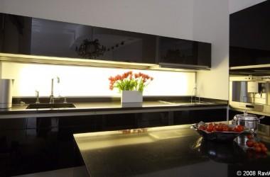 Kuchnia połączona z pokojem