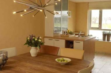 Dobry pomysł na malowaną kuchnię i łazienkę
