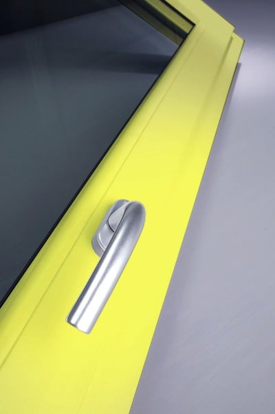 Profil żółty okna, Oknoplast