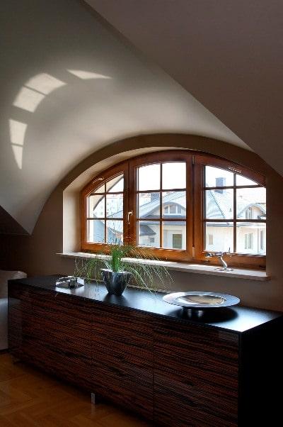 Nietypowy kształt okna, Oknoplast