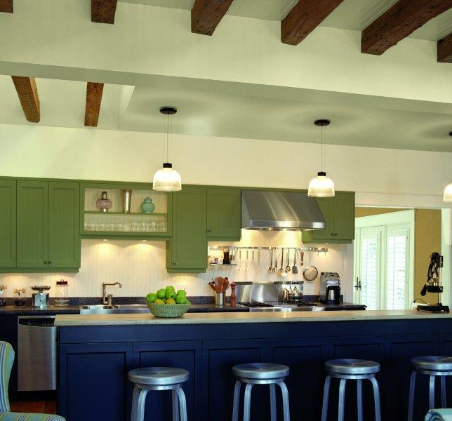 Kuchnia pomalowana farbą Para  Ultra Kitchen & Bath