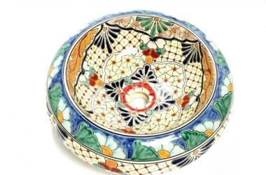 Umywalki malowane – niczym dzieła sztuki z Meksyku