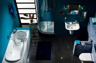 Ile miejsca trzeba na wannę, kabinę, sedes, umywalkę i pralkę?