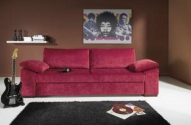 Jaka kanapa do ciemnych ścian i grafitowego dywanu?