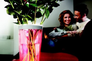 Doskonały gadżet – podświetlany wazon lub cooler do butelek