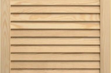 Montaż ażurowych drzwi do garderoby