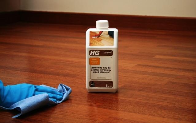 HG olej do podłóg