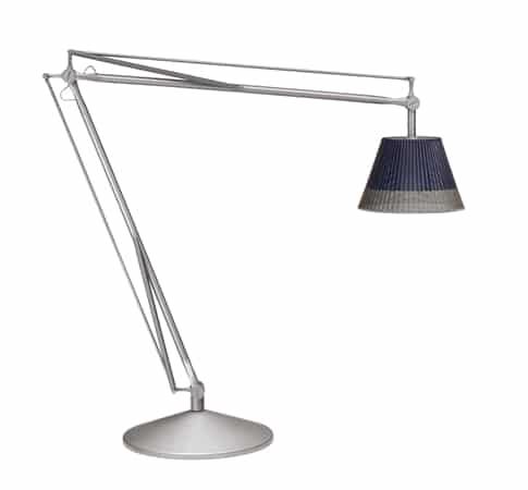kultowa lampa zewnętrzna SuperArchimoon, projekt Philippe Starck