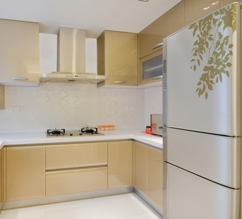 Naklejka Nature Art of Wall - dekoruje w kuchni lodówkę