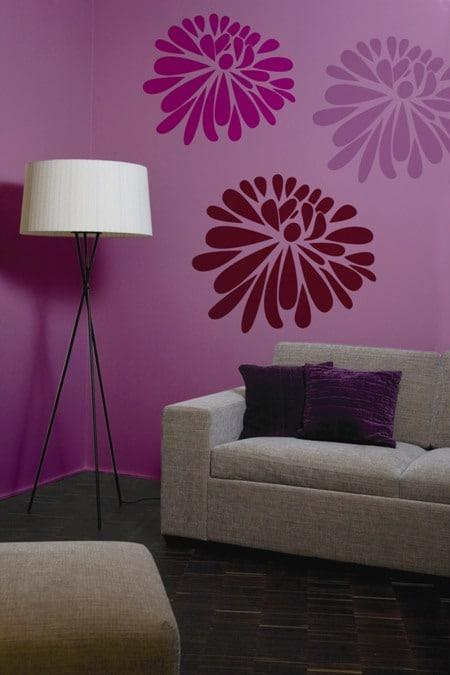 Optiva Tikkurila nadaje się do robienia szablonów na ścianach