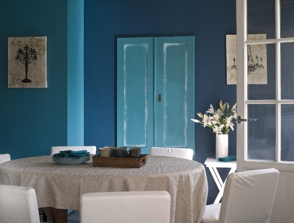 Wnętrze pomalowane farbami Optiva Tikkurila