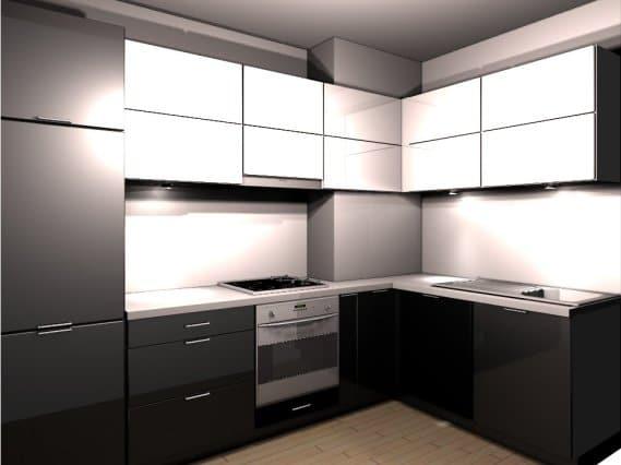 Jaki Kolor ścian W Czarno Białej Kuchni Porady Eksperta