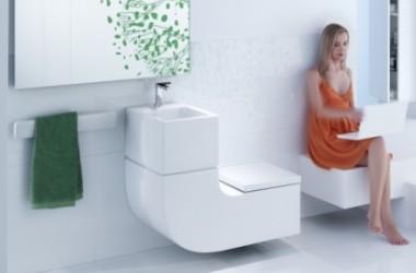 Toaleta i umywalka w jednym