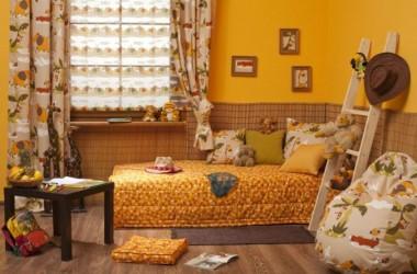 Żółty kolor do dziecięcego pokoju