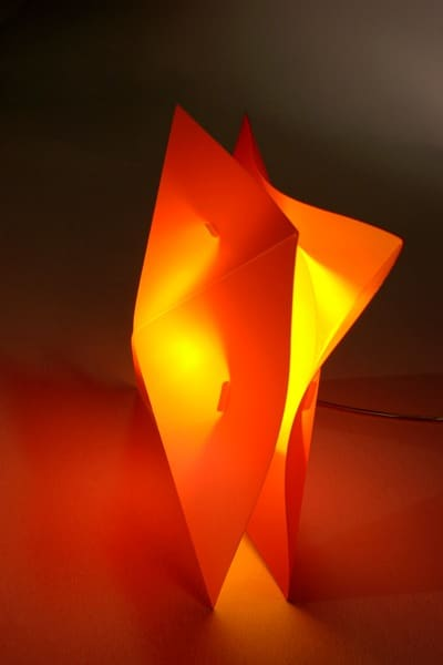 Lampa Hollow orange-yellow - do kupienia crazyshop.pl