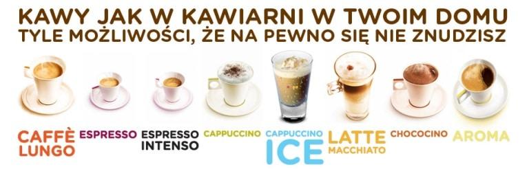 kawy z ekspresu Nescafe