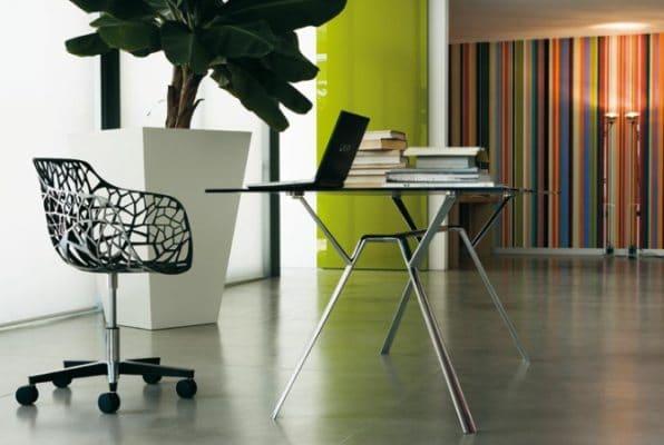 fotel na kółkach Forest - Fabryka Form