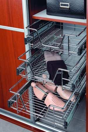 Kosz druciany do szafy - Komandor