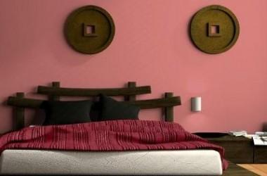 Kolory w długiej i wąskiej sypialni