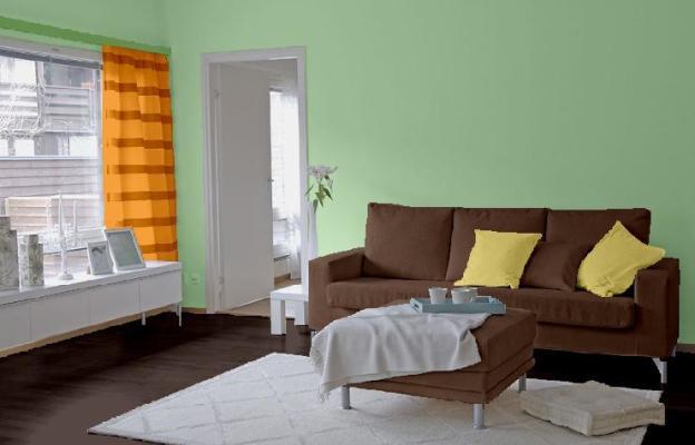 Pokój w zieleni
