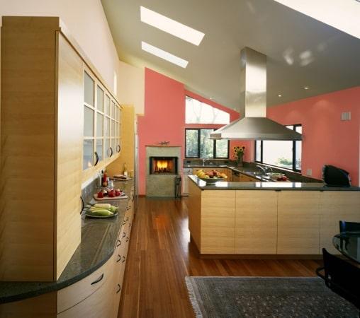 Dekoral - kuchnia pomalowana  aleinak Plus rafa koralowa