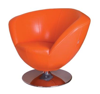 Fotel Only Plus pomaranczowy