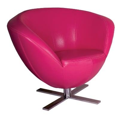 Fotel Only Plus różowy