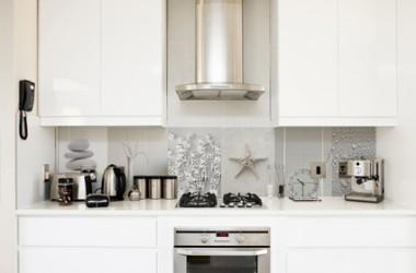 Pomysł na ściany w otwartej kuchni