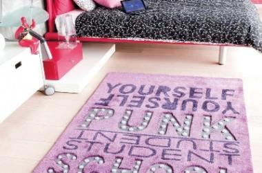Na dywanie pisane