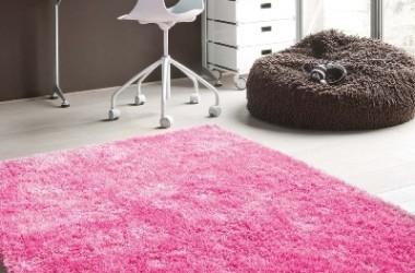 Puchate dywany dla dzieci i młodzieży