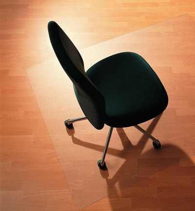 Komfort - mata pod krzesło - przezroczysta