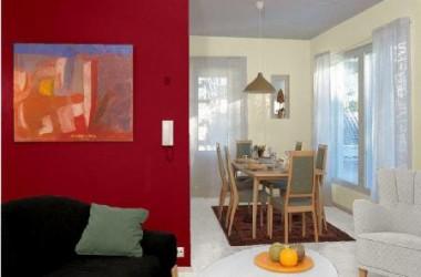 Kolory w pokoju połączonym z kuchnią i jadalnią