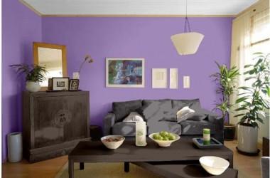 Kolor ścian do mebli śliwa