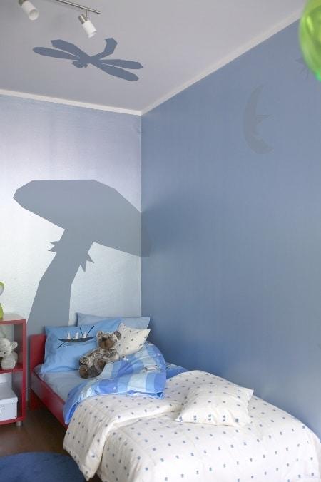 Pokój dziecka w błękicie - farba Tikkurila