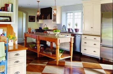 Cytrynowy kolor w kuchni