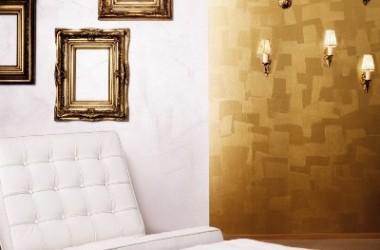 Złoty blask wnętrza