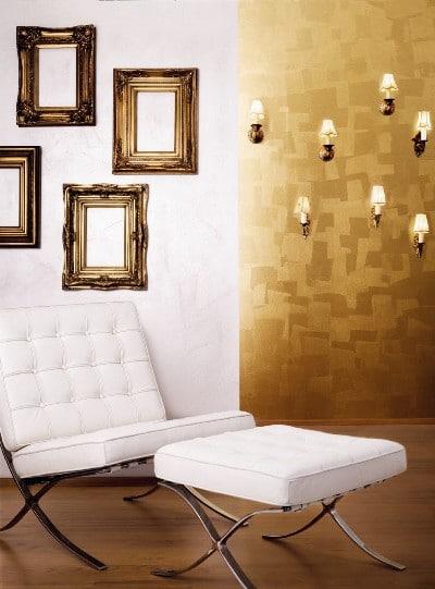 Modne złoto w pokoju - Tikkurila