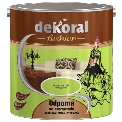 Farba Akrylit Fashion Dekoral - kolor limonkowa tafta
