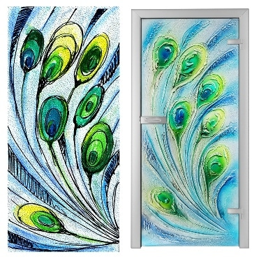 Szklane drzwi Villa Glass Studio