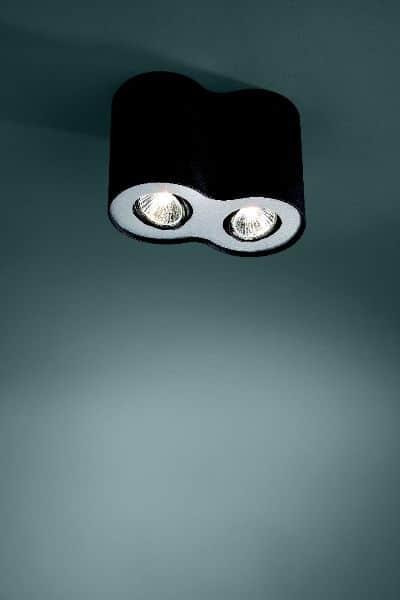 Spot firmy Ledino ze świetlówkami Philips