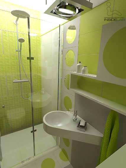 łazienka geometryczna InsideLab