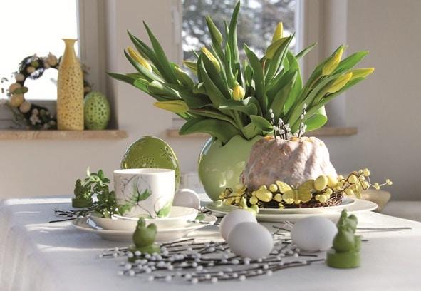 Wielkanocny stół - dekoracje home&you