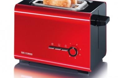 Kolorowe czajniki, tostery, automaty do gotowania jaj